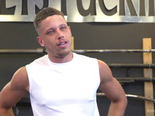 big boobs femdom Tony Shore, Tied Up and Edged at the Gym, menonedge on cumshot