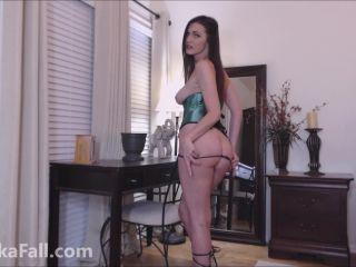 style fetish masturbation porn   Anika Fall - Lucky Sexy RipOff St Patricks Day   financial domination
