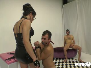 Luna Marks - Dr. Luna Takes Care Of Her Slave With A Hard Cock 2018