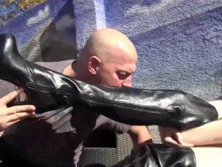 Porn online Footdom United – Boot Slaves. Starring Mistress Arielle [Femdomboot, Bootdom, Boot Domination] femdom