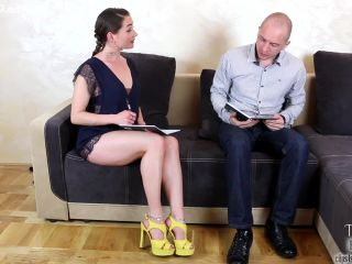 Online Tube Tessa Fantasies presents Footjob For Her Tutor: Dream Or Reality - handjob and footjob