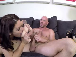 Kissa and Johnny Sins Blowjob and  Johnny Sins, Kissa Sins