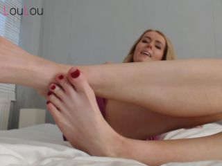 Goddess LouLou - Are you ready to become my foot slave