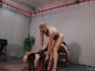 Domination – CRUEL PUNISHMENTS – SEVERE FEMDOM – Triple cruel punishment part1 – Mistress Anette
