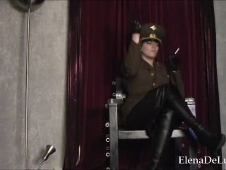 Uniform Fetish – Fascist FemDom – Smoking General POV – Elena De Luca