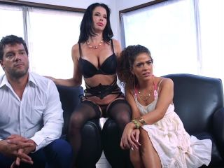 families tied: august 31, 2018 – veronica avluv, victoria voxxx and ramon nomar/the nymphomaniac's lil sister: veronica avluv returns