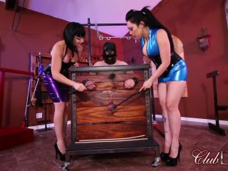 Clubdom – Liberated From Manhood by Jean and Lydia: Caning