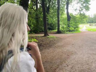 Eva Elfie - Walking with cum in panties after risky public sex 07.20. ...