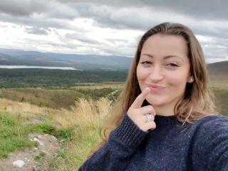 Dani Daniels - Scotland Roadside Blowjob
