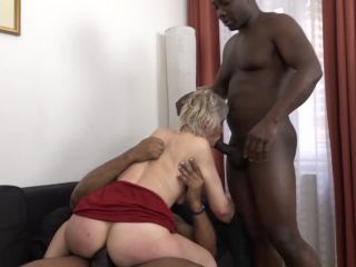 DFBnetwork presents Kathie White in White Hair Cougar Gets Fucked