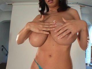 Jana Defi - Blue Lingerie 2 - Big boobs back in blue!