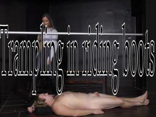 Cruel Mistresses — Mistress Amanda — Trampling in riding boots