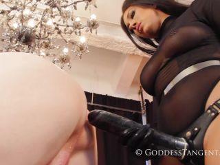 Goddess Tangent — Stretching Your Sluthole  1080 HD