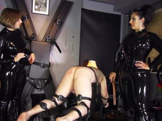 CRUEL ENGLISH FEMDOM  THE HUMAN GUINEAPIG  Starring Madame Caramel and Mistress Evilyne