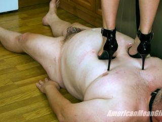 High Heels – THE MEAN GIRLS – The Art of Good Trampling – Princess Skylar and Princess Amber