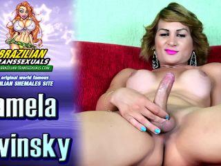 Online shemale video Pretty Pamela Lenvisk