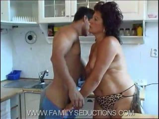 German mature hardcore anal hot mom gets hand stuck in sink
