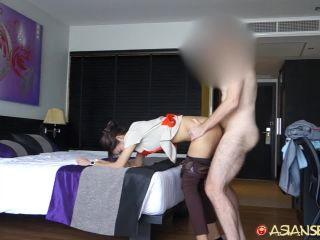 Catrin - Thai Hotel maid gives good MILF treatment