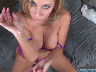 Jodi West - Jodi's Humpday Handjobs - Perverted Step-son Shaming Handj ...