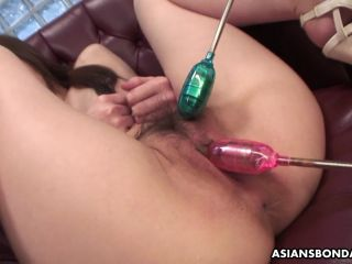 Online video bdsm asiansbondage: nude babe, rina serizawa is performing for many men