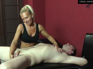 Cruel Handjobs - Mistress Gitta - Come and enjoy!!!