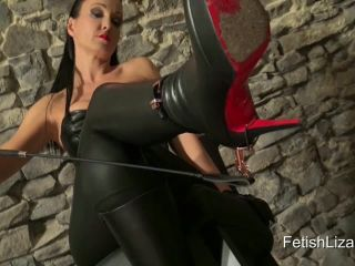 Porn online Louboutin Bianca Boots – Fetish Liza Clips – Under My Leather Boots and Spurs