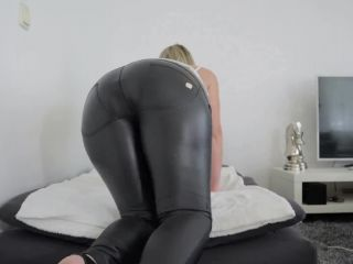 Helena Lana worked all day with huge buttplug in her asshole | helena lana | toys