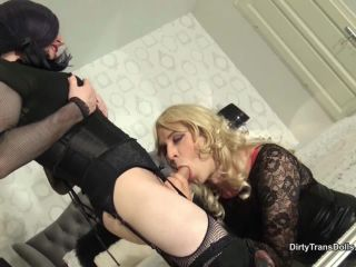 Dirty Trans Dolls – Cocksucking training for sissy sluts part2!)