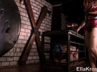 7397 – Slave Worships My Bare Feet With His Mouth – Ell@ Kr0 on feet porn leya falcon femdom