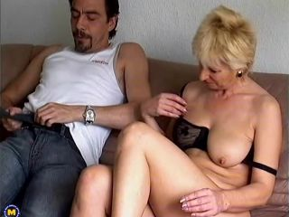 Mature.nl- Naughty housewife fucked on the couch