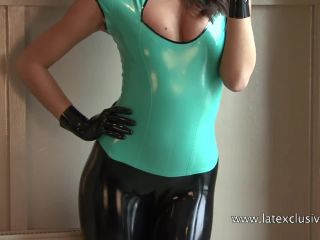 {lara - Turquoise Latex Top (mp4, , 198.4 Mb)|lara - Turquo