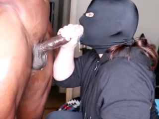 Unlimited BBC Deep Throat with Throat Pie