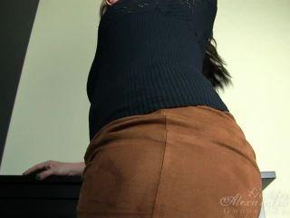 Goddess Alexandra Snow - Shiny Sparkly Nylons on masturbation porn impregnation fetish