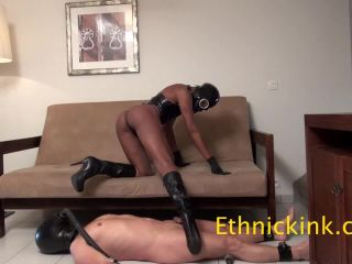Ass Sniffing – Goddess Sonya's Clip Store – Kinky Rio Lady Fucks You with a Gas Mask