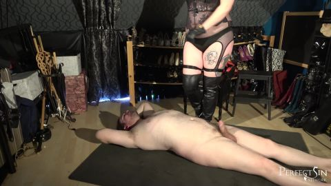 BDSM Mia starring in video (Lovely New Boots) of (Merciless Dominas) studio [FullHD 1080P]