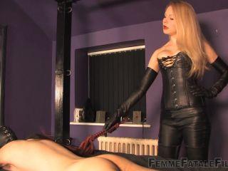 fetish diva Femme Fatale Films – Mistress Eleise de Lacy – A Caning Matter – Corporal Punishment – Femme-Fatale, Female Domination, femme fatale films on blonde