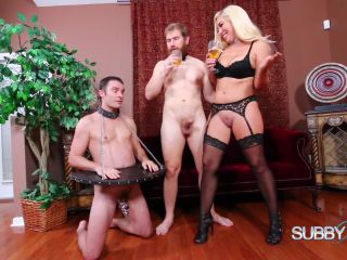 dutch femdom fetish porn | Pussy Licking – Subby Hubby – Sunny's Trained Husband Part 4: Fucking a Real Man – Sunny Chase | female domination