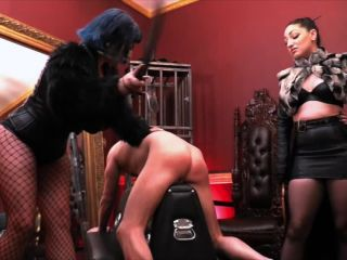 Caning – Cybill Troy FemDom Anti-Sex League – Beaten into Slave Pulp – Cybill Troy and Veronica Vixen