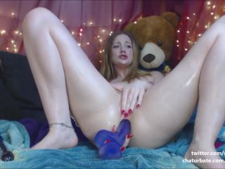 Gingerspyce – Princess Bubblebutt Anal Gape Squirts