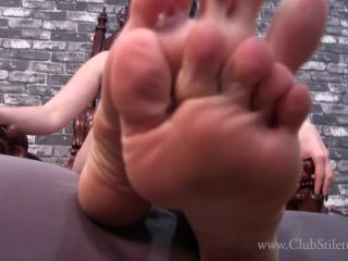 Clubstiletto – Princess Lily – My Feet Are Dirty And Sore