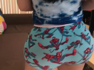 Porn online Crystal Lust - Step Sister with a Big Ass Plays on her Brothers Ps4 then gets Fucked¡