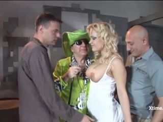 Gangbang and fisting with big booty Britney