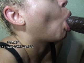 interracial - DSLAF – Dick Sucking Lips And Facials presents FaceFuck And Titjob With Kitty Kokaine