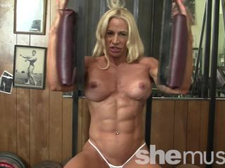 Jill Jaxen - She&039;s Naked In The Gym. And Totally Ripped.