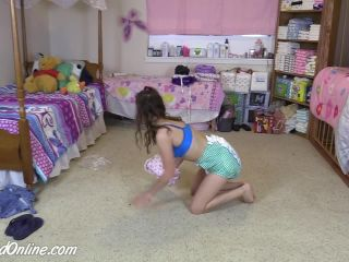 Pastel Cleaning Thick Diaper