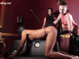 Filling Slaves Holes With Cock -Goddesses Tangent Cybill Troy's Brutal Spit Roast  – Mistress Tangent