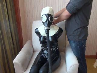 Latex Lesbisch Bondage Maske