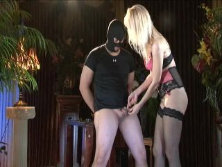DomKarin - In chastity on fetish porn wetsuit fetish