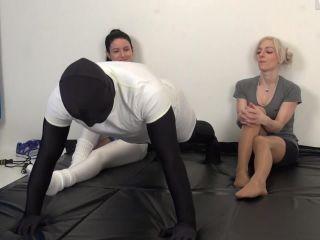amateur fetish porn femdom porn | TeaseandThankYou - Headscissor School | feminine hands
