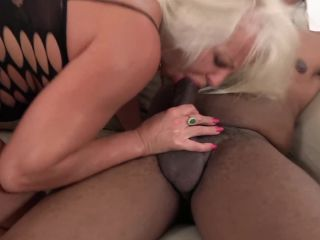 Big Tits Granny gets Anal Fucked by Big Black Dick